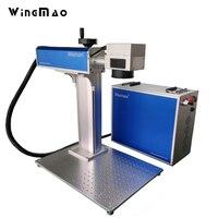 20w Fiber Laser Marking Machine Price Pigeon Rings For Sale Metal Engraver