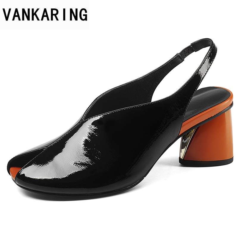 VANKARING hot women sandals 2018 summer fashion sexy high heels peep toe shoes woman dress party casual gladiator women sandals fashion summer gladiator women flat fashion shoes casual occasions comfortable sandals round toe casual peep toe flat shoes s