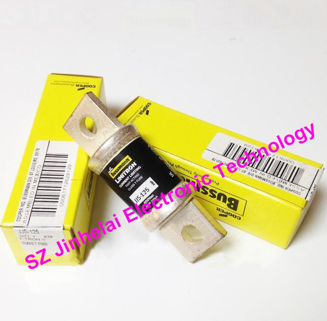 100% New and original JJS-125 BUSSMANN Fast-Acting Fuse 125A 600V rgs4b 315a fast fuse rgs4b 315a 660gh fast acting fuse