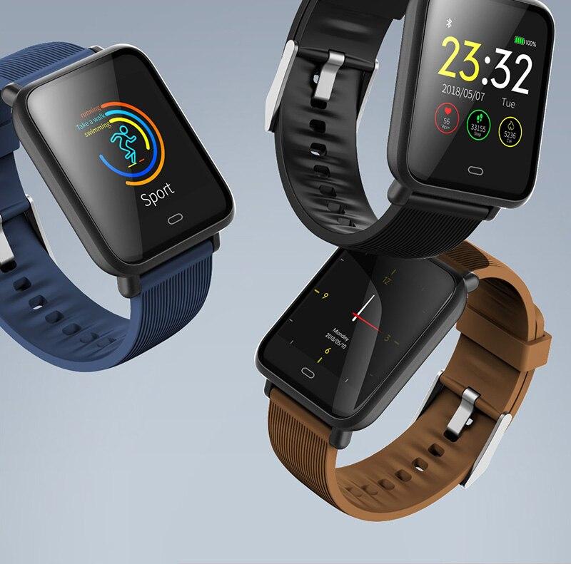 VERYFiTEK Q9 Color Screen Sport Smart Watch Blood Pressure Heart Rate Monitor IP67 Waterproof Smartwatch Men Women Fitness Watch (2)