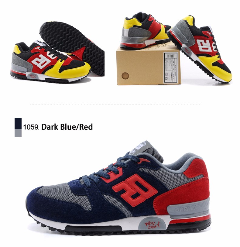 ONEMIX Men Retro 750 Running Shoes Rubber Leather Sport Women Trainers Sneakers Breathable Female Walking Jogging Shoes EU 36-44 20