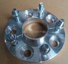 25mm Roda Espaçadores/Adaptadores PCD 5×100 Para 5×112 CB 57.1-73.1mm Roda pregos M12X1.5