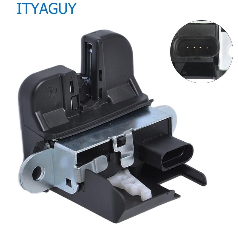 1T0 827 505 H Trunk Lock Block Rear Trunk Lid Lock Latch For VOLKS WAGEN GOLF G TI PASSAT TOURAN 1T0827505H 5K0827505A 6RD827505