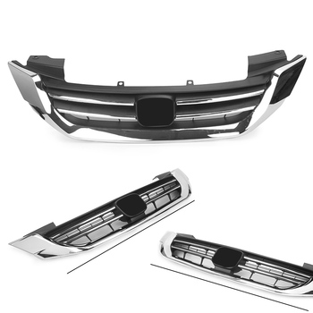ABS Auto Car Radiator Grille Front Upper Grill For Honda Accord 2013 2014 2015 13 14 15