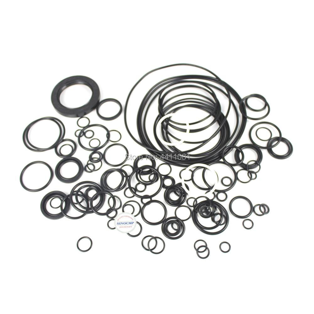 For Komatsu PC300-6 Main Pump Seal Repair Service Kit Excavator Oil Seals, 3 month warranty