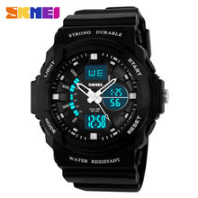 SKMEI Shock Resistant Sport Watch Men Watches Waterproof Women Kids Outdoor Multifunction Boy Children Fashion Wristwatches 0955