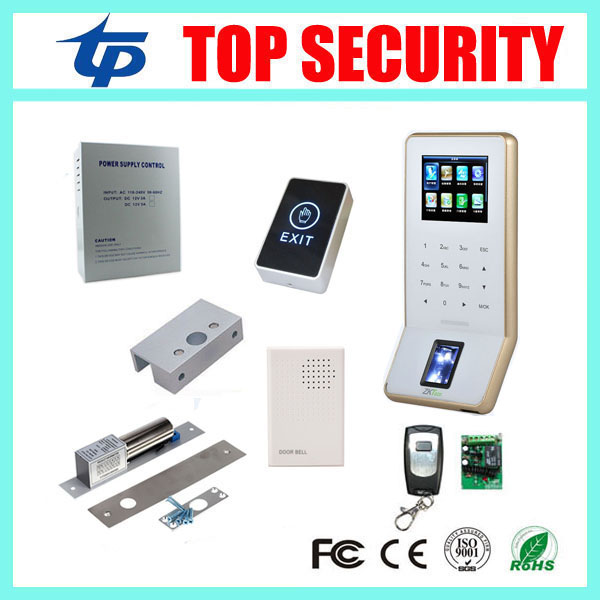 Biometric fingerprint access control system with free software and SDK WIFI TCP/IP communication F22 fingerprint reader f807 biometric fingerprint access control fingerprint reader password tcp ip software door access control terminal with 12 month