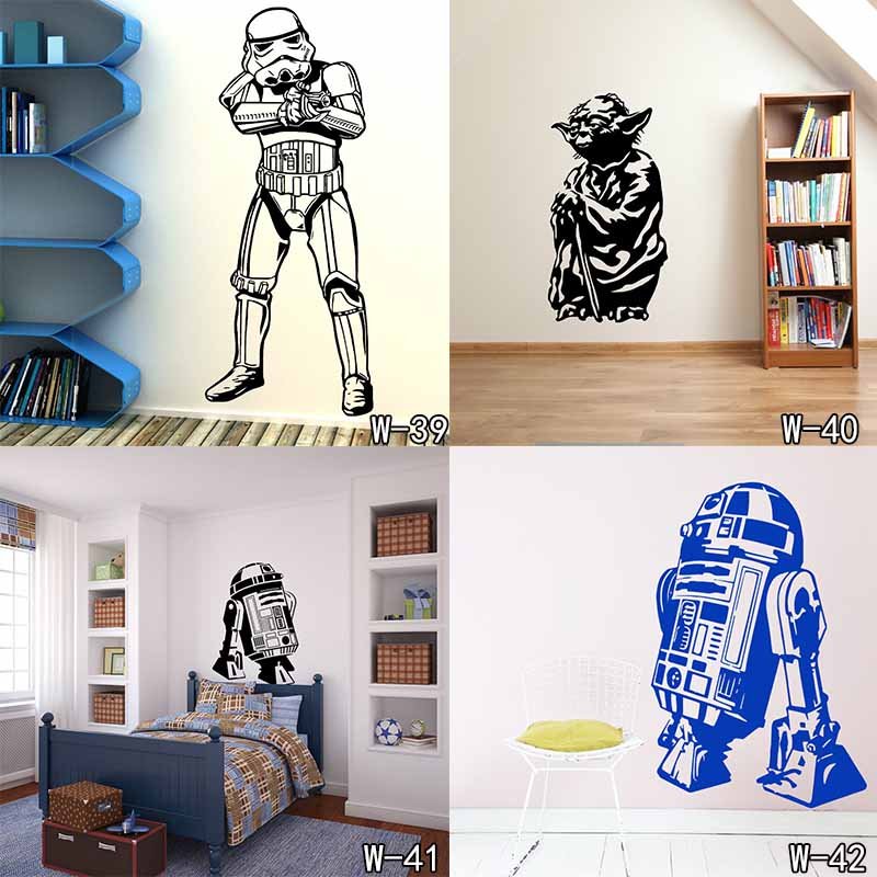 Death Star Wars Poster Wall Stickers Wall Decals Art Stormtrooper For Kids Rooms Home Decoration WallPaper for Kids Room sacramento city decal landmark skyline wall stickers sketch decals poster parede home decor sticker