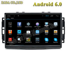 NAVITOPIA Newest 1024*600 9 inch Quad Core Android 4.4/Android 6.0 Car Radio player for Chrysler 300C Old With Wifi free map GPS
