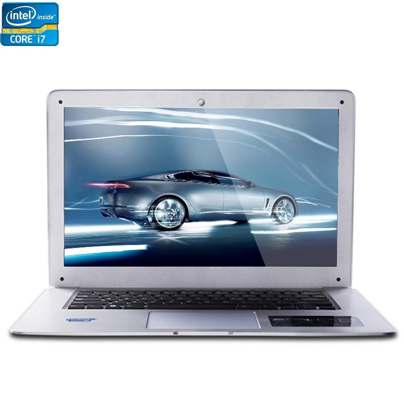 Intel Core i7 CPU 14inch 8GB RAM 64GB SSD 500GB HDD 1920X1080P FHD Resolution Windows 7