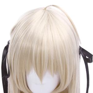 Image 5 - L email perruque pour Cosplay synthétique lisse, longue de 80cm, nouvelle perruque pour Cosplay Yosuga no Sora In solitude