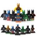 8 pcs avengers íris dc super hero figuras de ação batman building block brinquedos crianças presente compatível com legoe