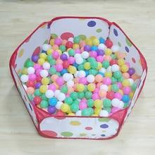Игровой бассейн, детский манеж, легко и дешево, Океанский мяч, бассейн, игра для малышей, мяч, яма в упаковке, 1 м, 1,2 м, 1,5 м, 3 размера