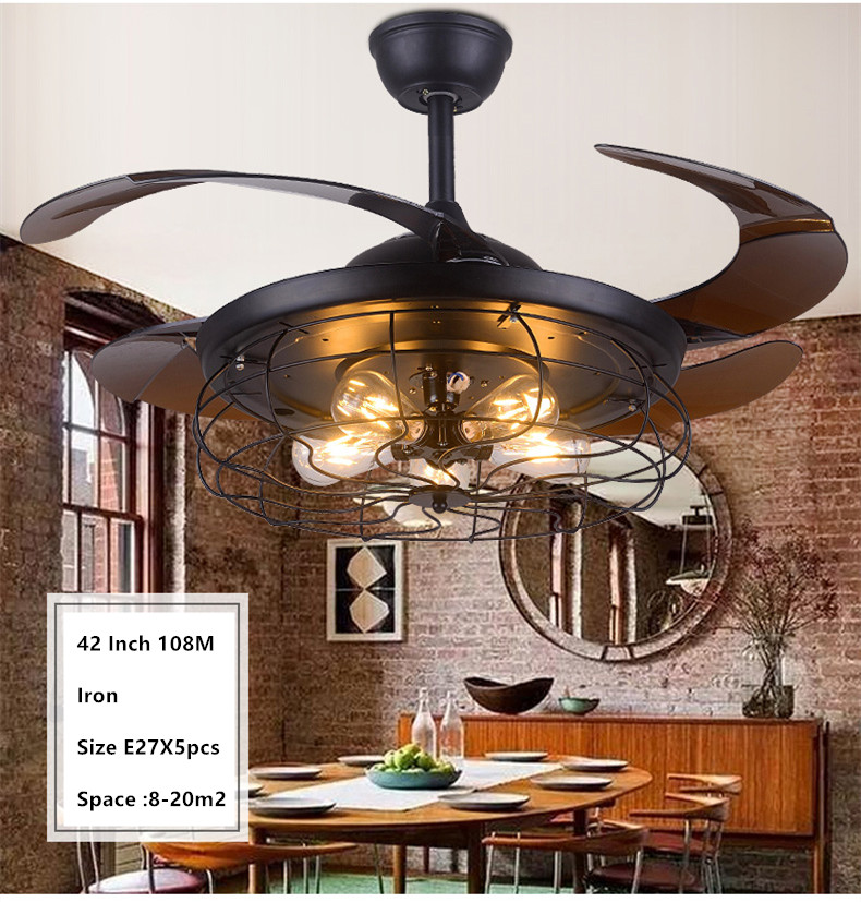Ceiling Fan With Light Over Kitchen Table 2021