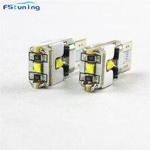 FSTUNING 3SMD 9W T10 W5W 168 194 CANBUS безотказный светодиодный авто DRL запасной габаритный фонарь парковки лампы Автомобильный светильник