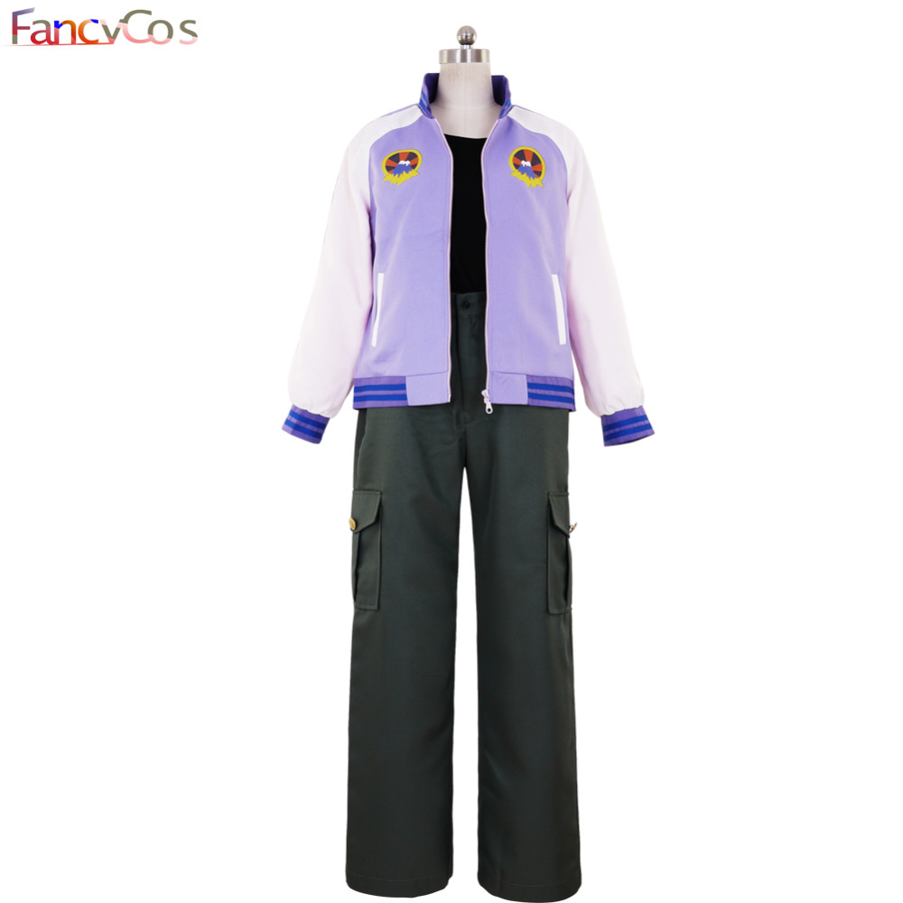 Halloween Men's TIGER & BUNNY Origami Cyclone Uniform Hero Cosplay Costume Anime Movie High Quality Custom Made