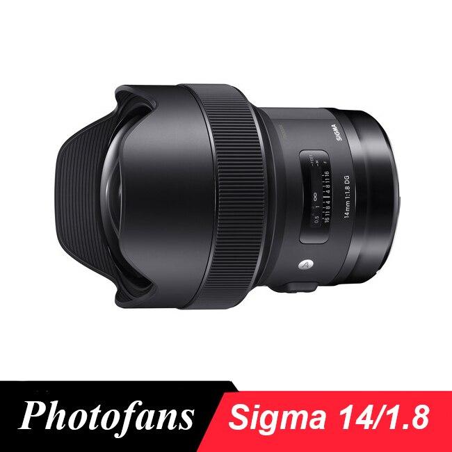 Sigma 14mm f/1.8 DG HSM Sanat LensSigma 14mm f/1.8 DG HSM Sanat Lens