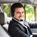 Caminhoneiro Sobre a Cabeça Sem Fio Bluetooth Fone de Ouvido Fones De Ouvido Fone de Ouvido Com Microfone Boom Flexível com Tecnologia de Cancelamento De Ruído