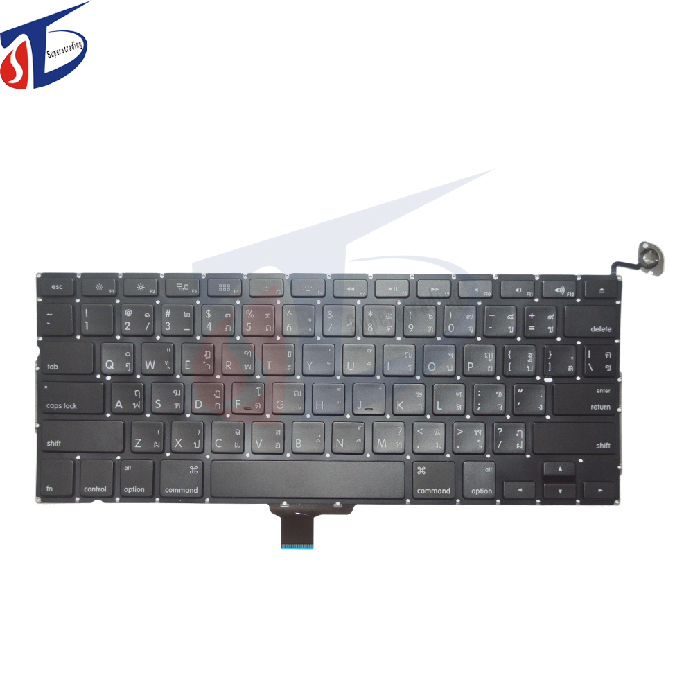 New US TH keyboard for font b Macbook b font Pro 13 3 Retina A1278 AMERICA