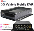 Free DHL GS-8303G 3G+GPS Mobile DVR, H.264 4CH Real time GPS Track ,I/O,G-sensor,Vehicle DVR,support iPhone ,Android Phone