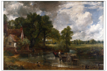 landscape canvas prints giant posters classical scenery art pastoral Imagich Top 100 prints The Hay Wain 1821  By John Constable top posters холст top posters 50х50х2см g 1033h