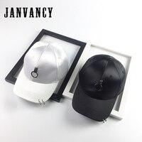 Janvancy 야구 남성 및 여성 스팀 펑크 힙합 모자 뼈 스냅 철 반지 패션 머서