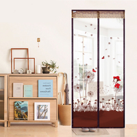 Door Screen Magnetic Stripe And Double Magnetic Block Anti Mosquito Magnetic Tulle Curtain Colour Love Little