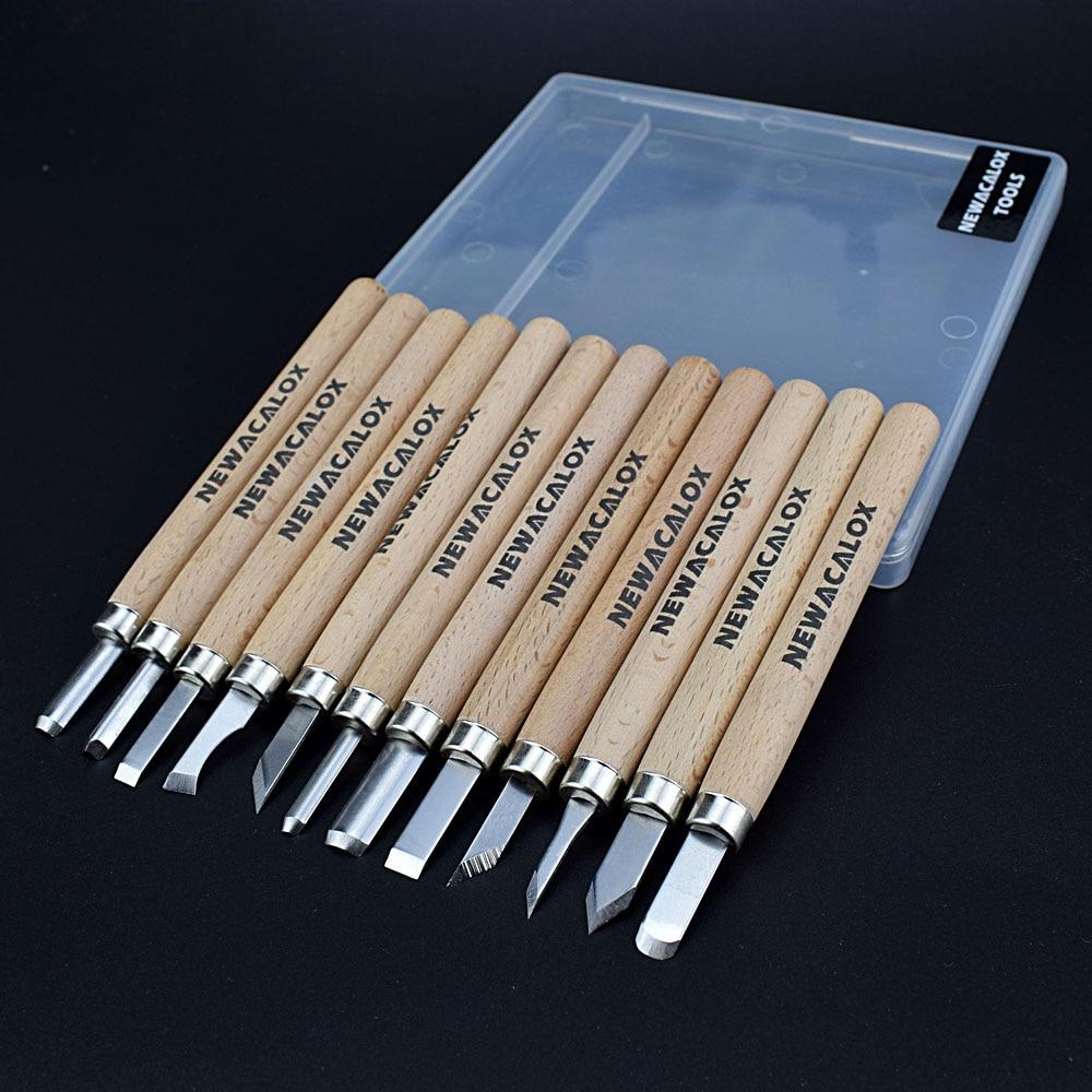 NEWACALOX Penna fai da te Coltello per intaglio del legno Scorper - Utensili manuali - Fotografia 3