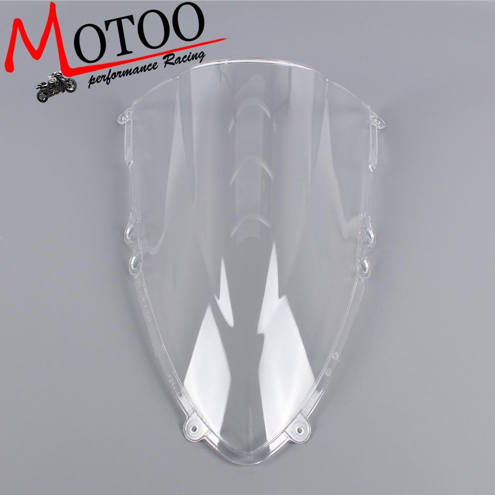 Motoo -Windshield WindScreen Double Bubble for Ducati 1199 1199R 1199S Panigale 2012 2013 motoo windshield windscreen double bubble for honda cbr600rr f4 1999 2000