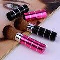 Venta caliente Retráctil Soft Cheek Face Powder Blush Fundación Pincel de Maquillaje Herramienta Cosmética