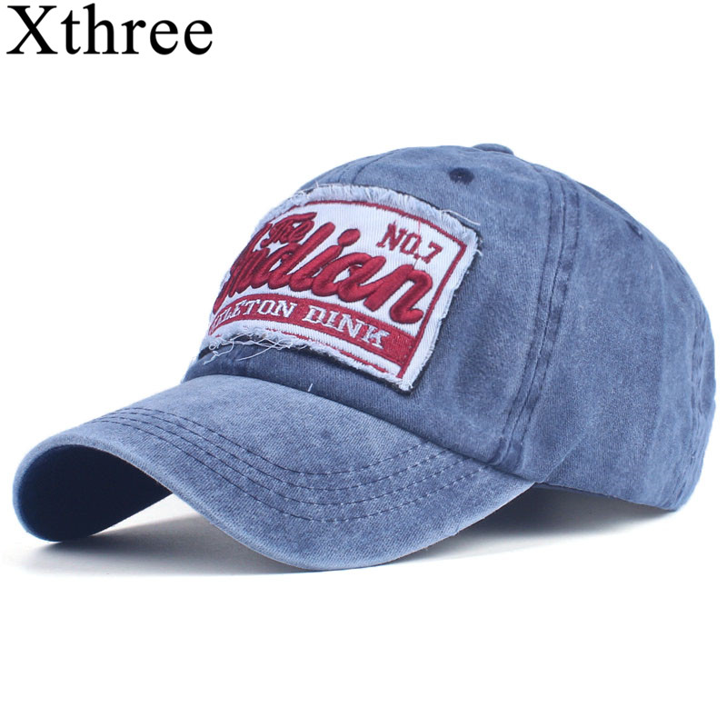 Xthree Mens Baseball Cap Women Snapback Hats For Men Bone Casquette hat cap Brand Casual Gorras Adjustable Cotton