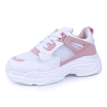 2019 spring and summer fashion boys and girls sports shoes trend gauze breathable casual flat children's shoes