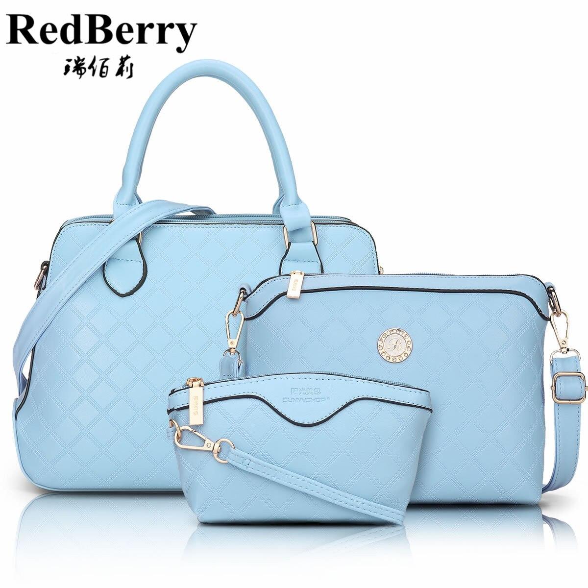 Women Bag Composite Top PU Leather Spring Fashion Handbag Shoulder Crossbody Black Pink Luxury Ladies Famous Brand New Solid