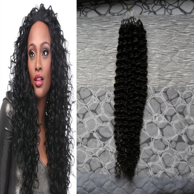 8a Brazilian Kinky Curly Hair 100g Natural Hair Micro Loop Hair