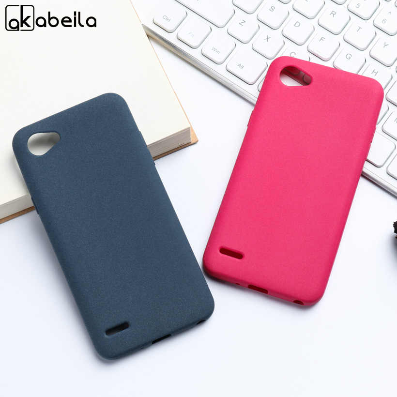 Caso Para LG Q6 AKABEILA G6 Mini M700N M700A M700DSK M700AN Q6 + Q6 Plus M703 X600 X600K X600S X600L Q6 um alpha Pelúcia Matte Covers