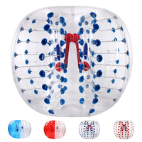 Diam 1.5m/1.2m Giant Inflatable Human Bumper Bubble Soccer Ball Sumo Suit Blow Up Toy Eco Friendly PVC Adults Teens Outdoor