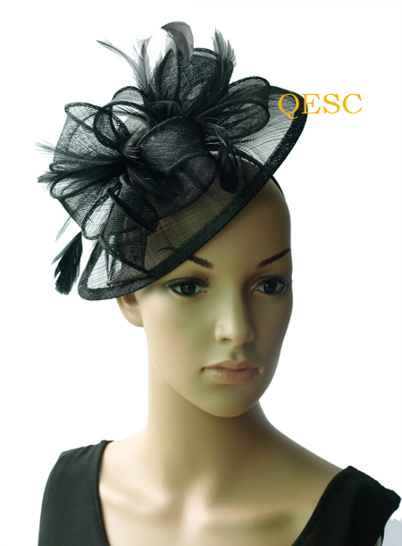 b42169aa NEW Lime green Feather sinamay fascinator women's hat for Wedding,Ascot  Races,Party,Kentucky Derby,Melbourne Cup.FREE SHIPPING.-in Women's Hair  Accessories ...
