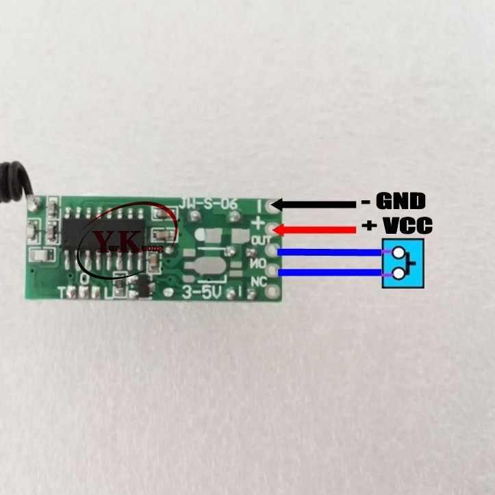 DC3V 3.3 V 3.7 V 4.2 V 5 V 12 V 2A przekaźnik Mini przełącznik zdalny tylko Rx o inteligentnego domu broadlink RF App bezprzewodowy przełącznik nie ma COM NC skontaktuj się z