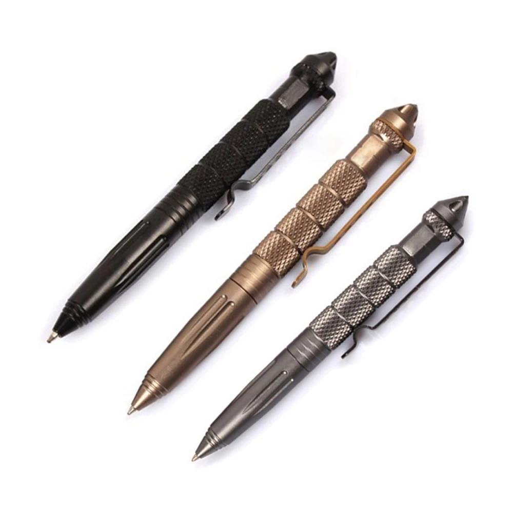 Emergency Self Defense Tactical Pen Glass Breaker Survival Tool Outdoor Camping