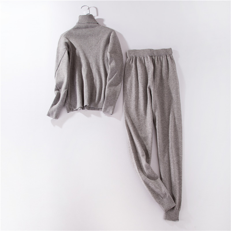 Autumn-and-winter-explosions-sportswear-high-collar-sweater-knit-pants-suit-casual-women-s-two-piece (7)