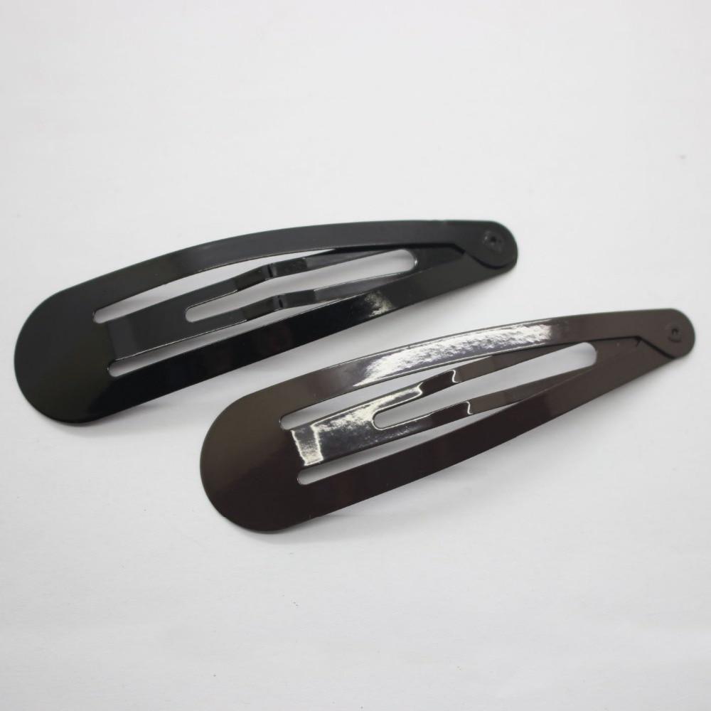 Fahionable κλιπ μαλλιών 8.5cm μαύρο και καφέ - Αξεσουάρ ένδυσης - Φωτογραφία 2