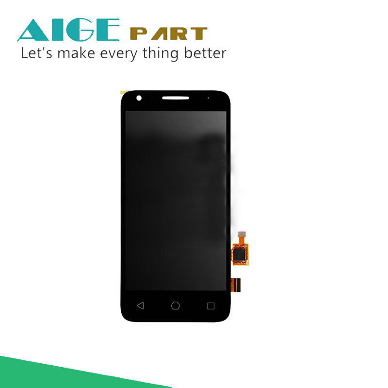 NEW 4.5 BLACK TOUCH SCREEN GLASS For Orange Dive 50 Touch Screen Digitizer Glass Sensor + LCD Display Panel Screen