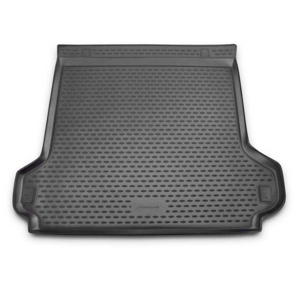 Фото - Car trunk mat for Toyota Land Cruiser Prado 150 2013-2017 5-seats version Element NLC4874B13 набор автомобильных ковриков element для toyota lend cruiser prado 5 мест 12 2009 2013 в салон цвет черный 4 шт
