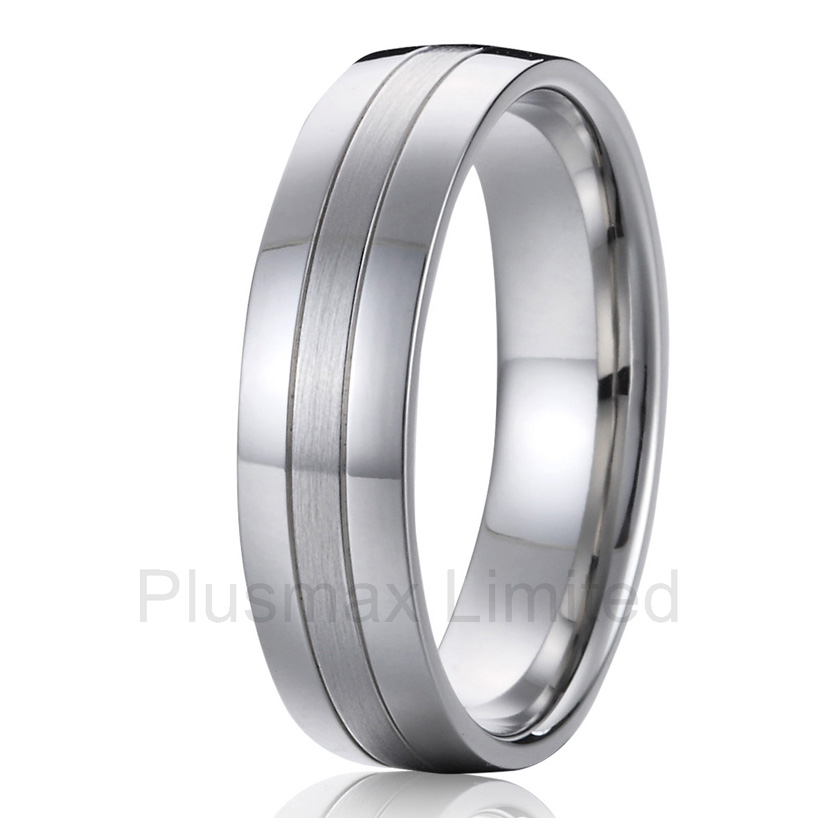 enjoy shopping high quality custom handmade cheap pure titanium jewelry fashion rings mens wedding band anel cheap pure titanium jewlery online cheap wholesale custom female wedding band jewelry ring