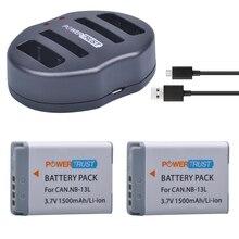 2 шт. NB-13L 1500 мАч NB 13L NB13L Батарея + Dual USB Зарядное устройство для Canon PowerShot G5 x G5X G7 X Mark II G7X G9 x G9X SX720 hs