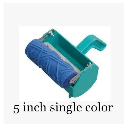 265 15 De Descuentopintura Decorativa Máquina 5 Rodillo De Goma Solo Color Patrón Pintura Líquida Papel Tapiz De Rodillos Decoración Máquina