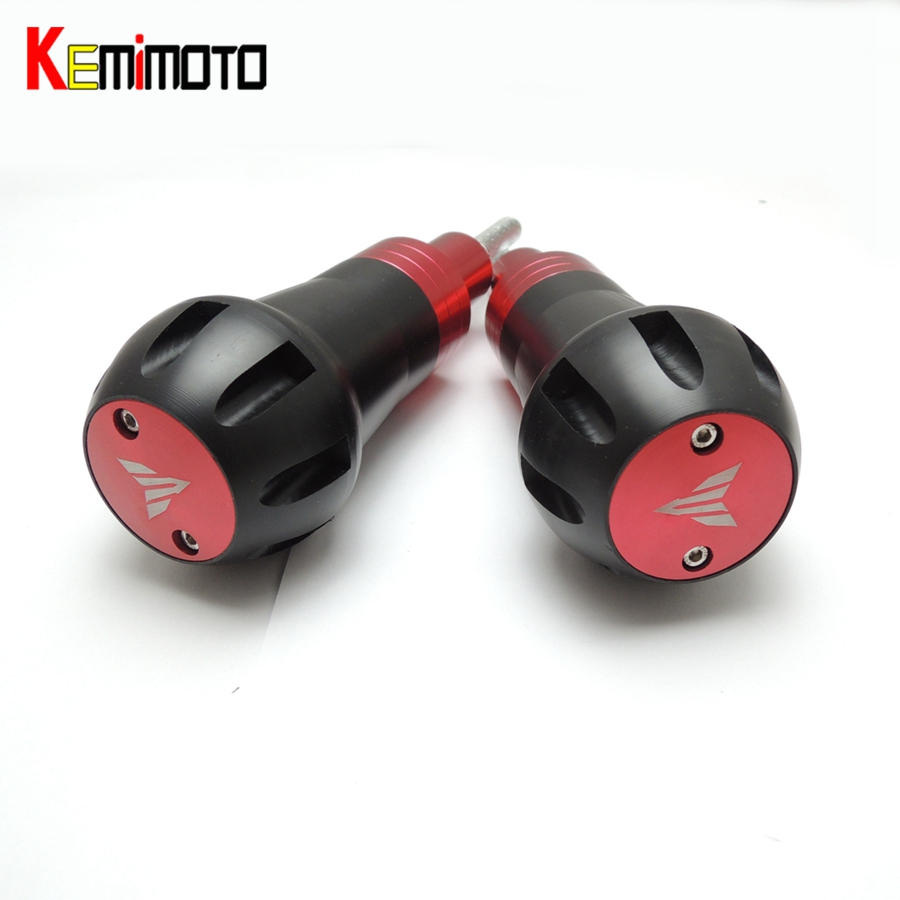 KEMiMOTO For YAMAHA YZF-R3 YZF-25 Motorcycle Accessories Frame Sliders Crash Protector for YAMAHA YZF R25 R3 2015 MT03 MT25 2015 цена