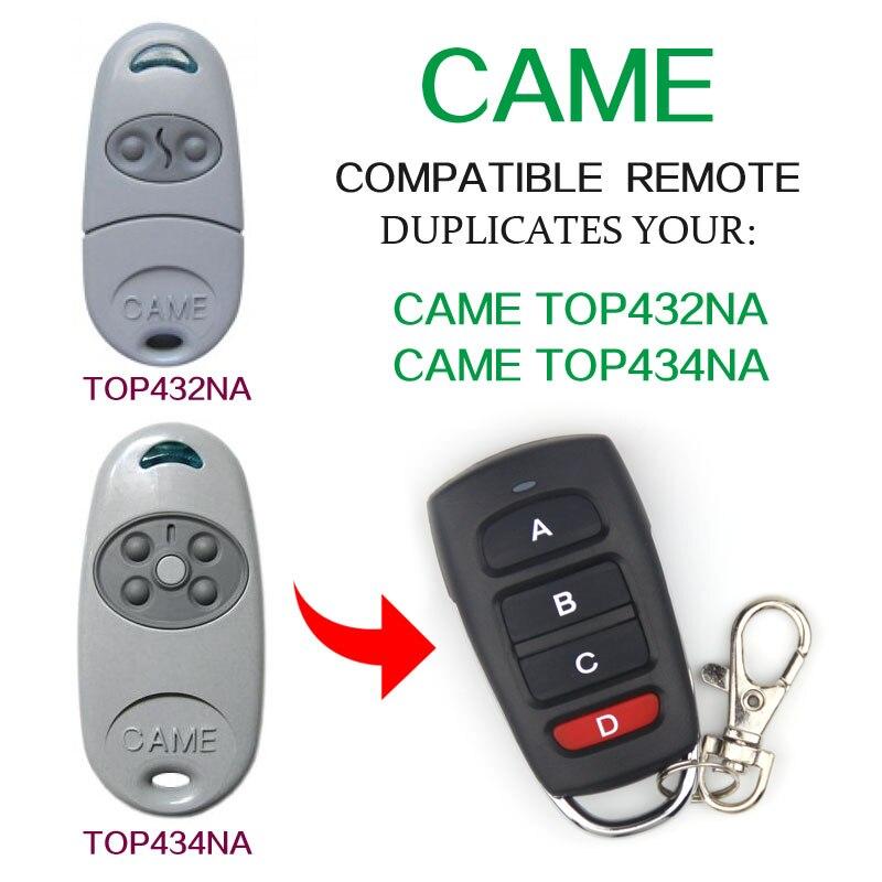 Скопируйте пришел top-432na пришел top-434na подошел 433.92 мГц пульты Universal Remote Control Электрический двери гаража дистанционного управления