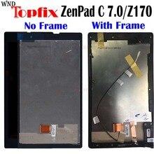 """7.0 """"אינץ נבדק מקורי LCD עבור Asua ZenPad C 7.0 Z170 Z170C Z170CG LCD תצוגת מסך מגע Digitizer עצרת LCD החלפה"""