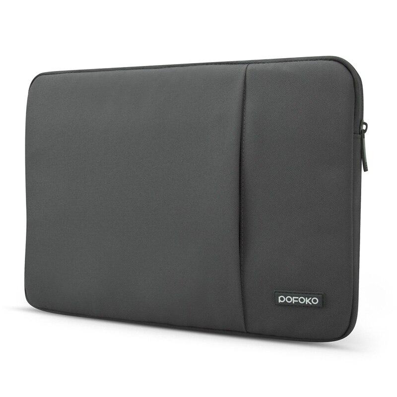 POFOKO 11.6/13.3/14 /15.6/17.3 inch Men Women Laptop Sleeve Bag for Macbook Air Pro Retina 11 12 13 14 15 17 Protective Case
